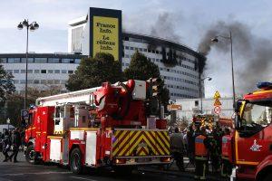 Dėl gaisro evakuota Prancūzijos valstybinė radijo stotis