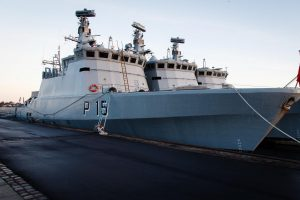 Lietuvos kariuomenė įsigijo naują patrulinį laivą