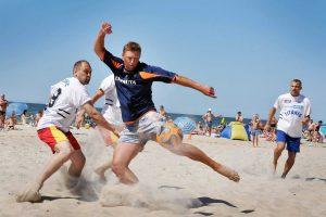 Klaipėdos paplūdimyje – tarptautinis futbolo turnyras