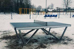 Ramučiuose – teniso stalas visiems metų laikams