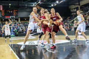 Latvijos krepšininkės sudaužė lietuvių viltis