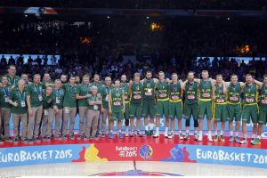 """Lietuva – pirmajame """"Eurobasket 2017"""" burtų krepšelyje"""