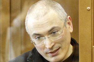 """Buvęs """"Jukos"""" vadovas M. Chodorkovskis: nuosprendyje A. Navalnui nėra nieko neįprasta"""