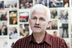 Vilniuje surengta akcija A. Beliackiui paremti