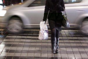 STT specialistė sostinėje automobiliu partrenkė pėsčiąją