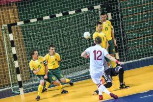 Latvijoje vyks salės futbolo Baltijos taurės turnyras