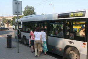 Sostinės autobusai kraustomi į II-ąjį troleibusų parką