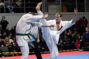 Lietuvis iškovojo Europos šotokan karatė čempionato aukso medalį