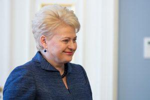 Prezidentė: T.Manno festivalis sujungia Lietuvą ir Vokietiją