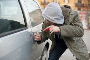 Pavogta mašina savininkui grąžinta netrukus