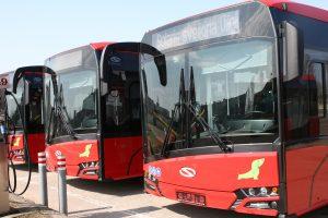 """Į Vilniaus gatves išrieda nauji """"Solaris Urbino"""" autobusai"""