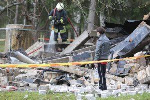 Aliarmas Vilniuje: netoli Santariškių klinikų nugriaudėjo sprogimas