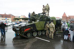 Estiją pasiekė NATO bataliono prancūzų kontingento karinė technika