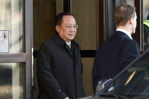 Šiaurės Korėjos ministras susitiko derybų su Švedijos premjeru