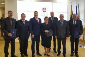 Klaipėdos rajono savivaldybės ugniagesiams – įvertinimai