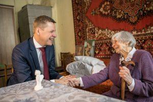 Vilniaus meras pasveikino atkurtos Lietuvos bendraamžius