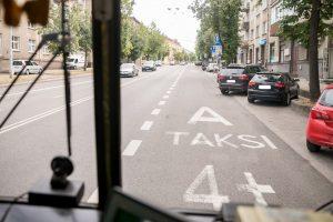 Vilniuje pažeidėjus, važiuojančius A juosta, fiksuos troleibusai