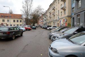 Senamiesčio gyventojams – atokvėpis nuo svetimų automobilių
