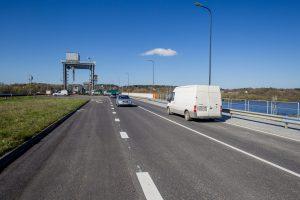 Ilgai laukta diena: atidarytas Kauno hidroelektrinės tiltas