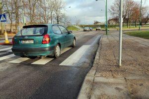 Mieste įrengė nuovažas neįgaliesiems