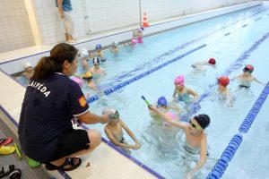 Uostamiesčio antrokams – plaukimo pamokos