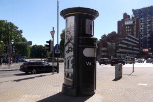 Klaipėdoje – modernūs viešieji tualetai reklaminėse kolonose