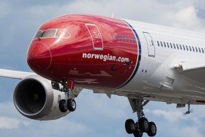 """""""Norwegian"""" pradės tiesioginius skrydžius iš Vilniaus į Stokholmą"""