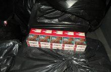 Už rusiškų cigarečių kontrabandą – iki 4 metų kalėjimo