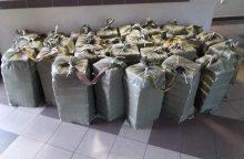 Pasieniečiai kontrabandininkams pridarė didelių nuostolių