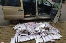 Smūgis narkotikų mafijai: sulaikyta hašišo daugiau kaip už 2 mln. eurų