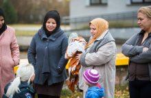 Pabėgėliai policininkų prašė ekskursijos