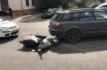 Kaunietis prašo atsiliepti: nukentėjo motoroleriu važiavęs sūnus