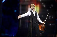"""Norvegijos atstovas """"Eurovizijoje"""" – kartą jau laimėjęs A. Rybakas"""