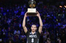 """Toronte paaiškėjo NBA lygos """"Visų žvaigždžių"""" savaitgalio konkursų laureatai"""