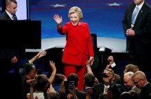 H. Clinton: Amerika laikosi savo žodžio