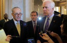 JAV senatoriai balsavo, kad B. Obamos veto būtų atmestas