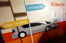 """""""Uber"""" planuose – skraidinimo paslaugos"""