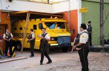 Dėl įžūlios milijonų dolerių vagystės Brazilijos policija areštavo 12 asmenų