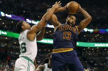 """NBA Rytų konferencijos finale – triuškinanti """"Cavaliers"""" pergalė"""