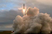 Naujojoje Zelandijoje išbandyta raketa pasiekė kosmosą, bet neįskriejo į orbitą