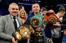 Kazachstano boksininkas apgynė čempiono titulus