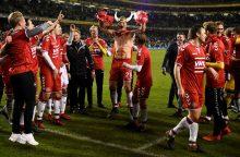 Danija triumfuoja – po įspūdingos pergalės pateko į pasaulio čempionatą