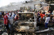 Irake dešimtys civilių gyvybių nusinešusį antskrydį surengė koalicijos pajėgos