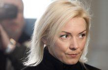 Prokuroras V. Vonžutaitei siūlo skirti 6,5 tūkst. eurų baudą