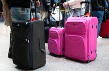 Ginče dėl skrydžio metu dingusio lagamino – sėkminga atomazga