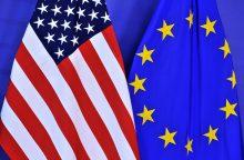 Vokietijos ministras: derybos dėl ES ir JAV prekybos sutarties žlugo