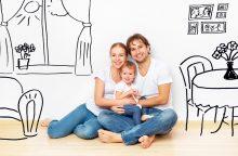 Kuriose vietovėse jaunos šeimos gali įsigyti būstą ir gauti subsidiją?
