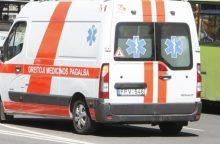 Praėjusią parą keliuose sužeisti 8 žmonės