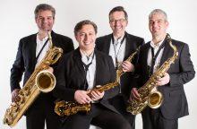 Vingio parke – pašėlusių saksofonų šėlionės