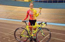 Lietuvos treko dviratininkai Tuloje iškovojo net šešis medalius